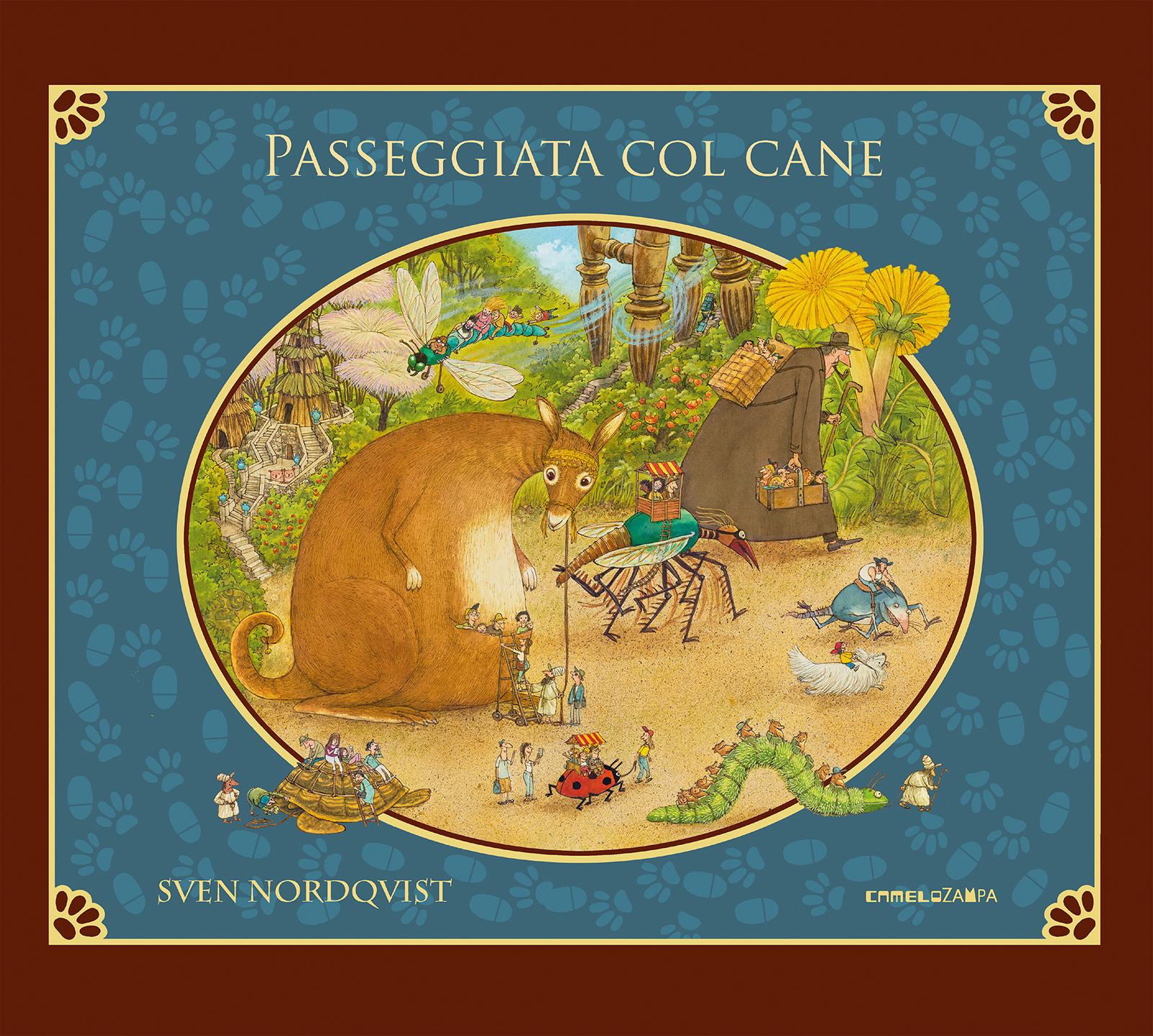 Passeggiata col cane - Casa Editrice Camelozampa